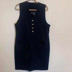 Vintage Lizsport by Liz Claiborne Ponte Knit Dress